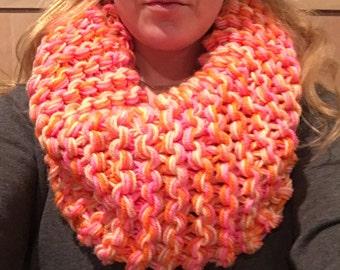 Pink & Orange scarf