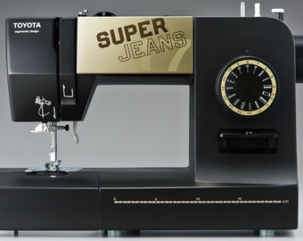 Toyota Super Jeans Heavy Duty sewing machine