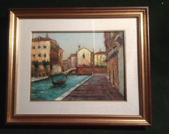 picture painter Aldo Parise/Venice