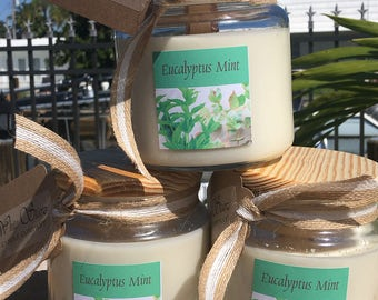 100%  All Natural 20oz Soy Candles