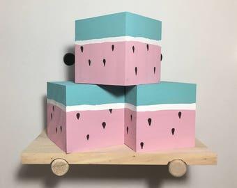 Fruit Blocks (Set of 3)