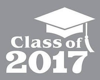 Class of 2017 Decal