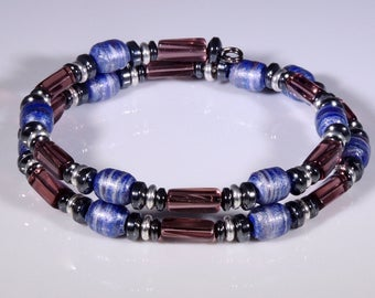 Wormhole (Upcylced Paper Bead Bracelet/HP0020)
