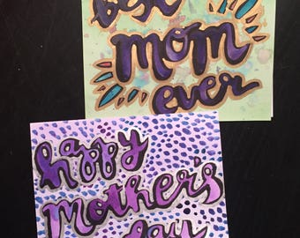 1 Mother's Day Card + Envelope