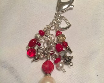 Puse charm or key chain -small
