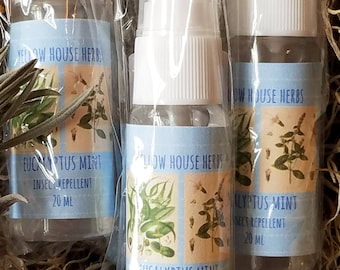 Eucalyptus Mint Insect Repellent