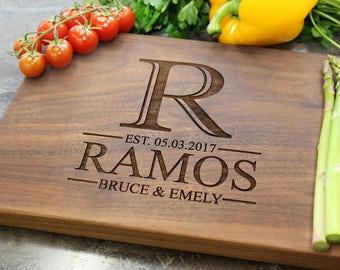 Personalized Cutting Board - Engraved Cutting Board, Custom Cutting Board, Wedding Gift, Housewarming Gift, Anniversary Gift, Engagement #30