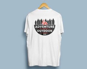 Adventure Outdoor trailwear t-shirt