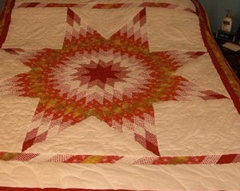 Lone Star Quilt 85in x 70in.