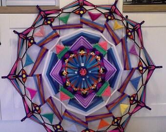 Mandala (Ojo de Dios) 1 m x 1 m