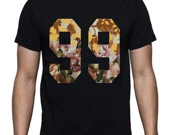 99 Floral Print T-shirt