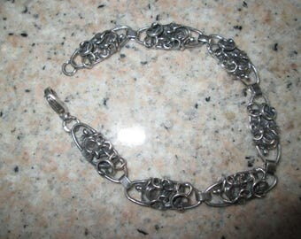 Sterling Silver Bracelet - Vintage and One of the Kind!