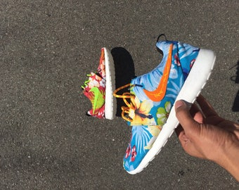 "Custom Nike Roshe Run ""What is Paradise"""