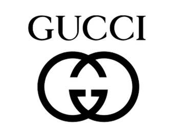 Sticker vinyl decal  GUCCI  C /mode couture décoration mode murale