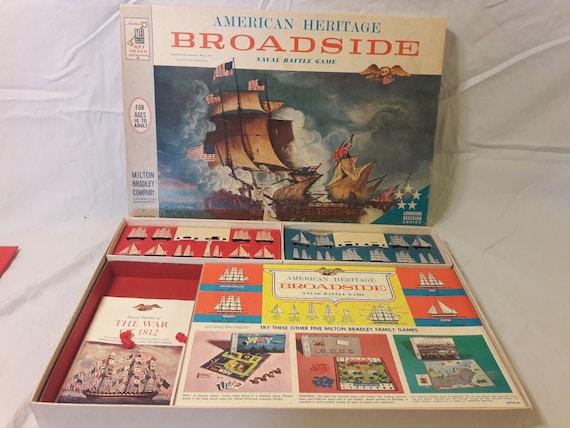 1962 Broadside Naval Game 100% Complete