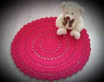 Floor Rug, Crochet Rug, Handmade Rug, Crochet Carpet, Gift, Area Rug, Homedecor Rug, Modern Rug