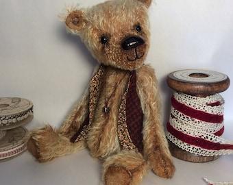 Albi, a 1OAK mohair collectors bear