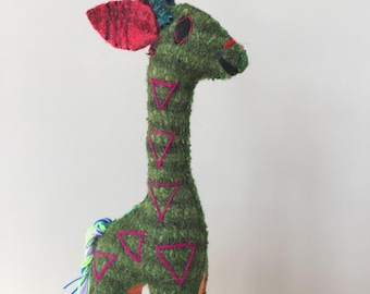 "Handmade stuffed animal ""GIRAFFE"""