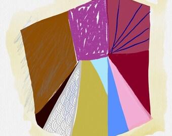 Art Book contemporary geometric digital prints #18