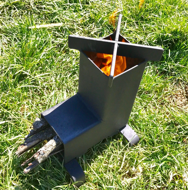Rocket Stove Camping Stove Wood Stove Emergency Stove