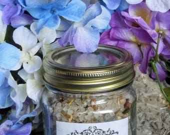 Cleansing Uncrossing Bath Salt  - Hoodoo, Voodoo, Wicca, Pagan