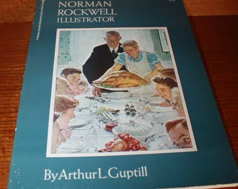 Vintage Norman Rockwell Illustrator, First Print 1971