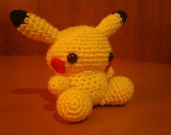 Pikachu Amigurumi 01