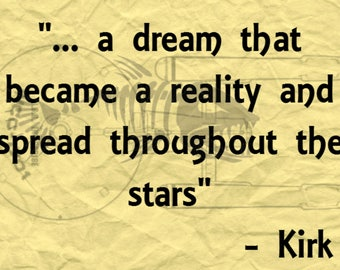 Star Trek Motivational Quote, Digital Download