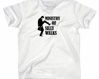 No. 1 Monty Python-Ministry of silly walks shirt