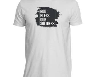 God Bless our Soldiers T-Shirt