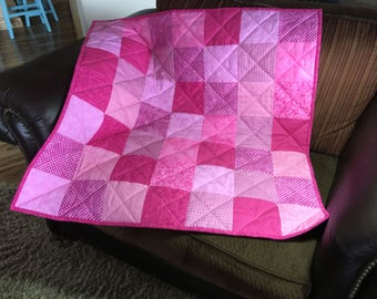 Pink Baby Quilt