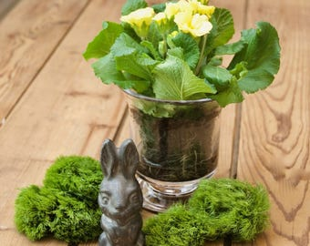 Vintage Miniature Rabbit Statue