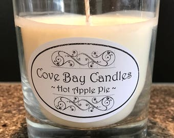 Handmade Soy Candle - Hot Apple Pie