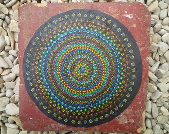 PAINTED TILE
