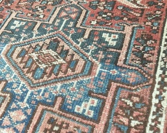 """10% OFF USE CODE SAVE10 2'4""""x3'10"""" Antique Persian Rug"""