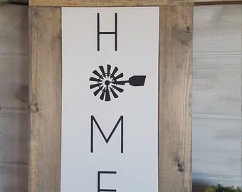 Home| Farmhouse Sign | Farmhouse Decor | Rustic Decor | Rustic Sign | Rustic | Wood Sign | Framed Sign | Farm style