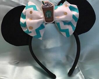 Starbucks inspired Mickey Ears