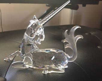 Swarovski fabolous creature unicorn