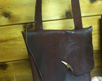 Buffalo Hide Hand Bag