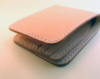 Leather Wallet Handmade Bifold