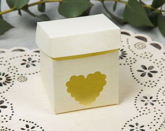 """Favor box-Line """"Country Heart"""""""