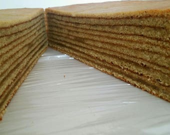 Indonesian Layer Cake (Spekkoek)