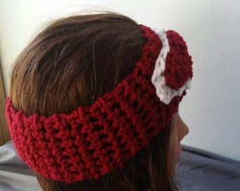 Headband. Sweetheart headband, ear warmer,