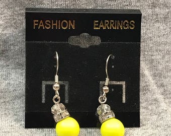 Sunbeam dangle earrings