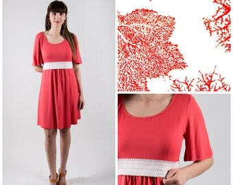 Coral Sea nursing dress