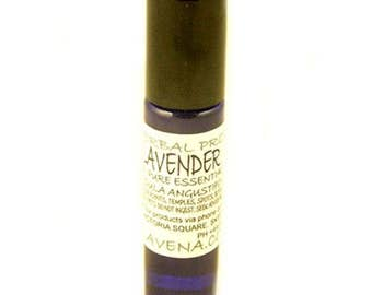 Lavender Pure Essential Oil TWO 10ml RollerBalls ideal for bites stings (insect and Plant) cuts grazes scratches spots Holiday Supplies