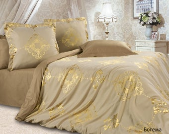 Bed linen Estetica Bohemia (jacquard).Bed linen