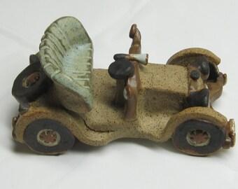Ceramic Model Classic Car