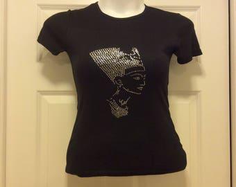 Nefertiti design Tee Shirt