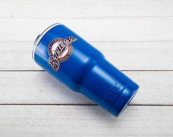 Milwaukee Brewers YETI Cup  Milwaukee Brewers Cup Milwaukee Brewers Birthday Milwaukee Brewers Gift Milwaukee Brewers Party